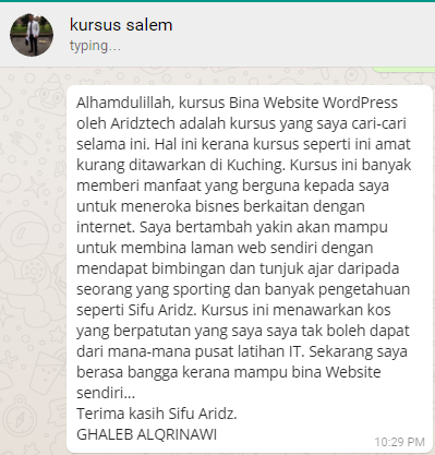 testimoni-salem-kursus-wordpress-murah-bagus-ekonomi-income-online-free-internet