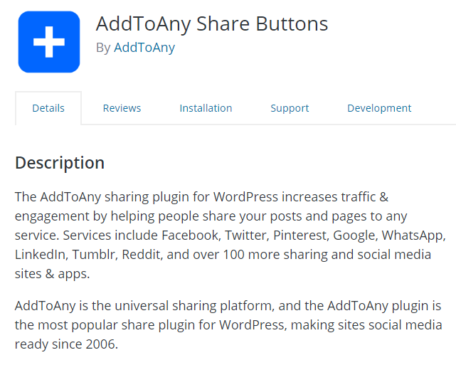 AddToAny-Share-Buttons-plugins-wordpress-social-network