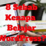 Lapan Sebab Kenapa Kita Belajar Bina Website Dengan CMS WordPress