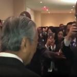 Video: Tun Dr Mahathir Dikerumuni Perwakilan Bangsa-Bangsa Bersatu Selepas Ucapan Beraninya