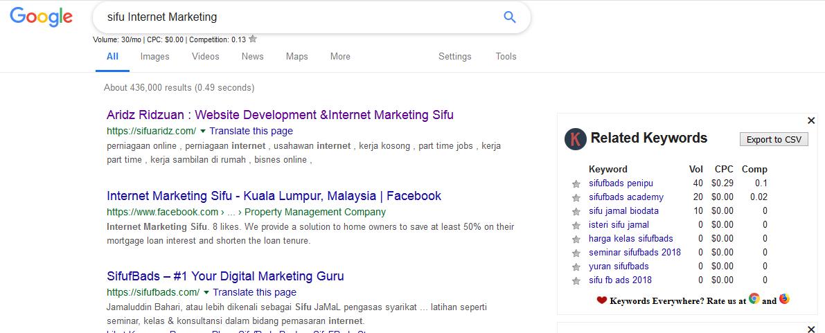 search-google-email-keywords-everywhere-kata-kunci-seo-permintaan-pasaran-buat-duit-internet